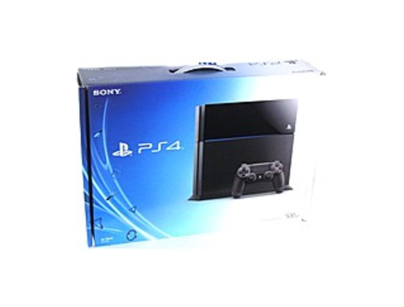 Sony PlayStation 4 3000366 Gaming Console - With Game Pad - Wireless - ATI Radeon - Blu-ray Disc Player - 500 GB HDD - Gigabit Ethernet - Bluetooth -