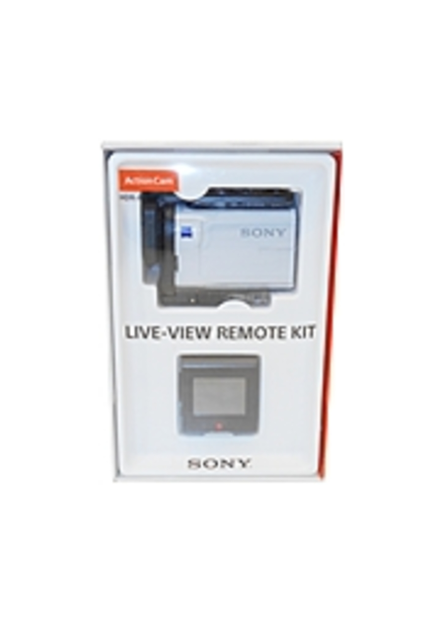 Sony HDR-AS300R/W 8.2 Megapixels HD Action Camera with Live-View Remote Kit - 8.57 Pixel Gross - 2.6 mm - F2.8 - White