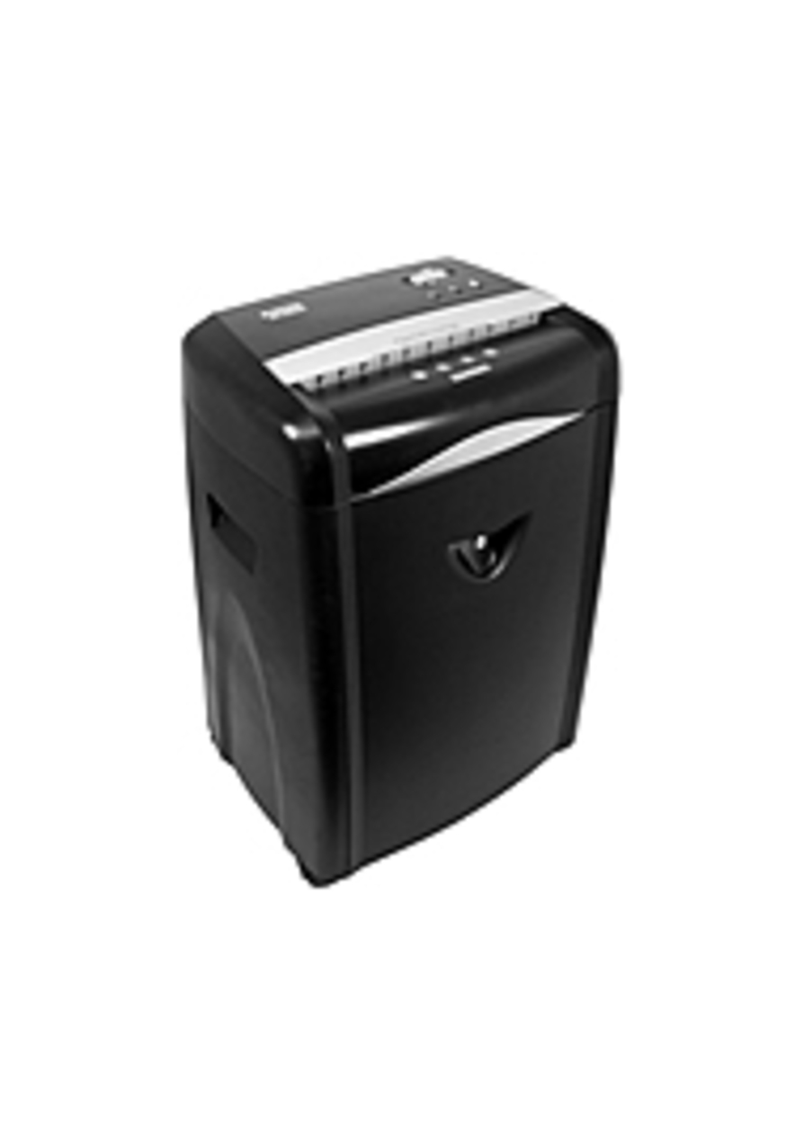 Sole Source EXAS1225-SS 12-sheet Paper Shredder - Cross-cut - Overload Protection - 220V