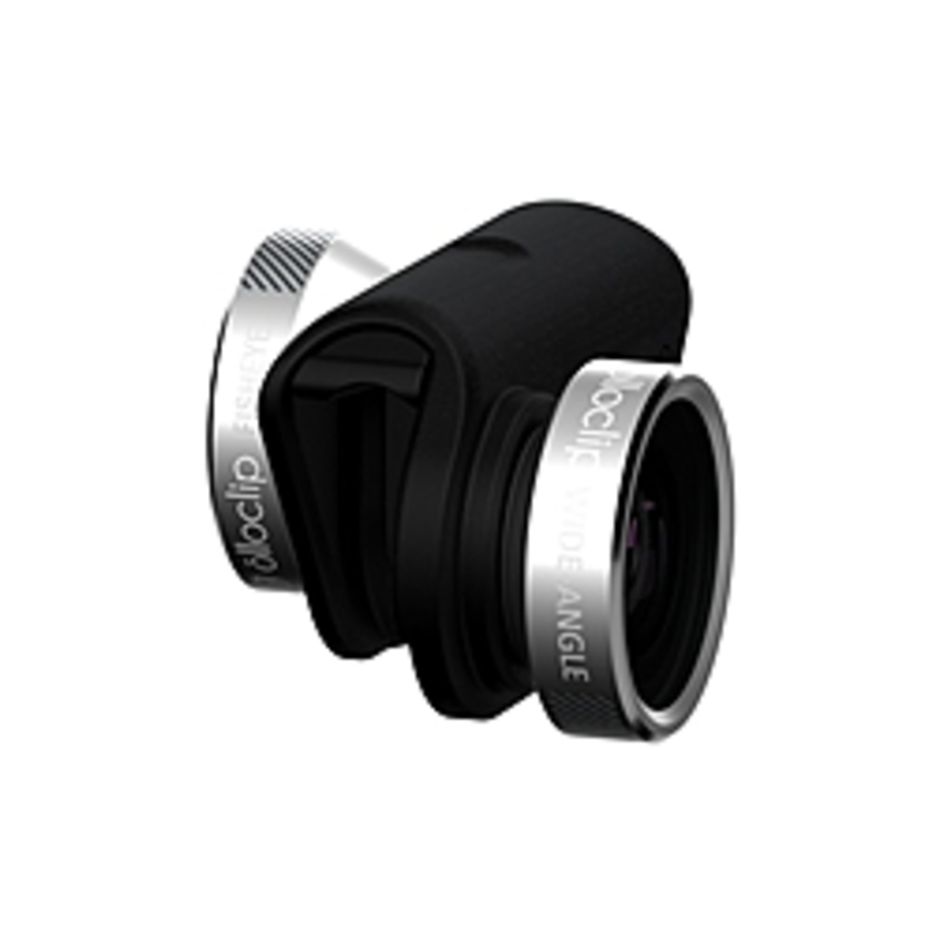 Olloclip - Wide Angle/Macro/Fisheye Lens - Designed for iPhone - 15x Magnification