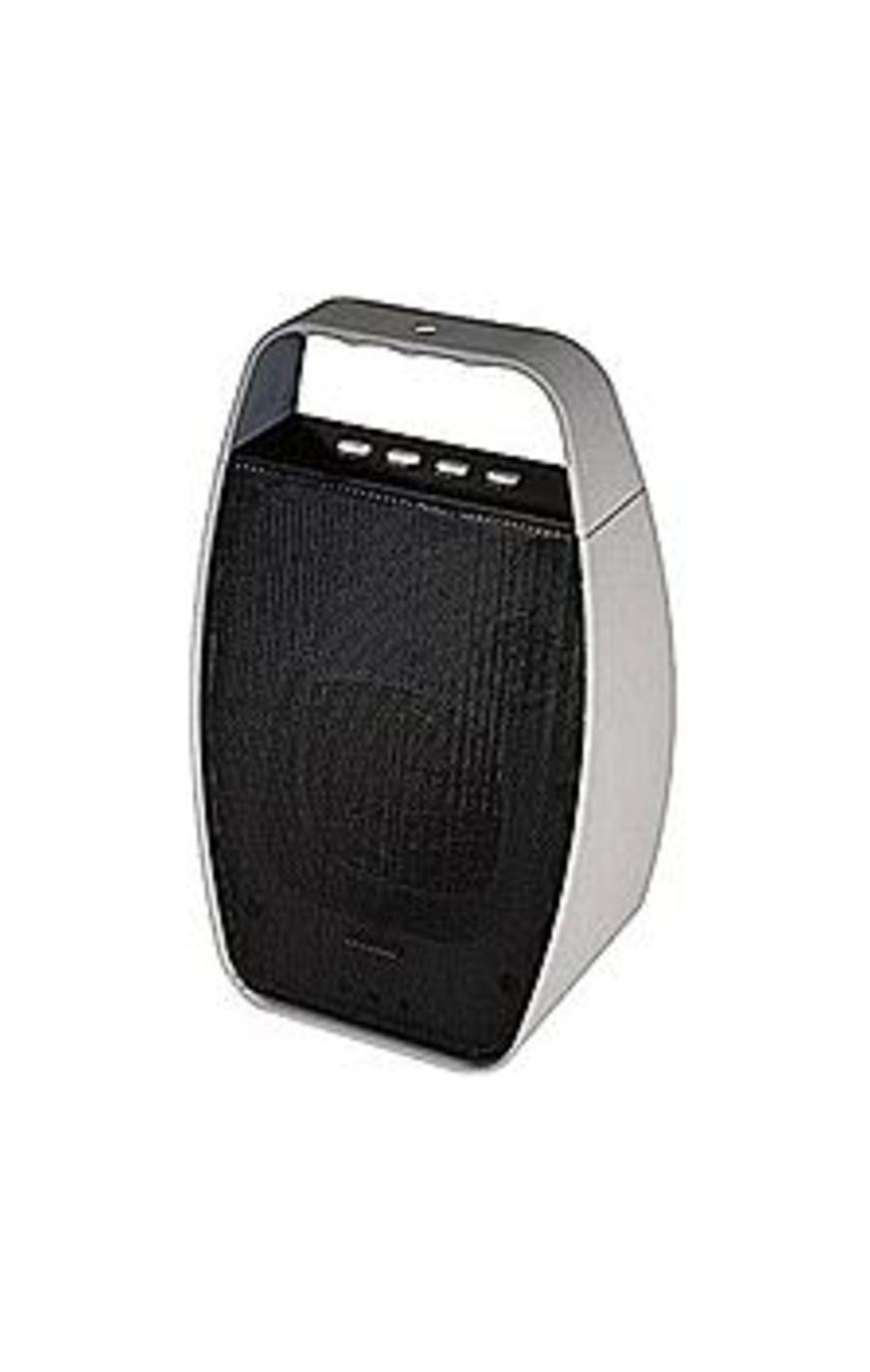 NXG Technology NX-WRLSM-GRAY Portable Wireless Bluetooth Speaker - Gray