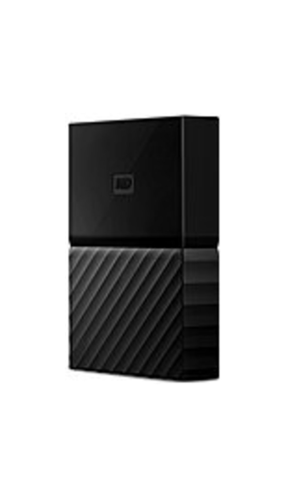 Western Digital WDBYFT0020BBK-WESN 2 TB My Passport Portable External Hard Disk Drive - USB 3.0 - Black