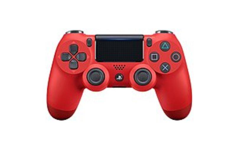 Sony DualShock 4 Wireless Controller - Wireless - Bluetooth - USB PlayStation 4 - Magma Red