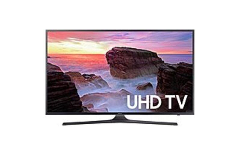 Samsung UN55MU6300FXZA 55-inch 4K UHD Smart LED TV - 3840 x 2160 - 120 MR - HDMI,USB - Black