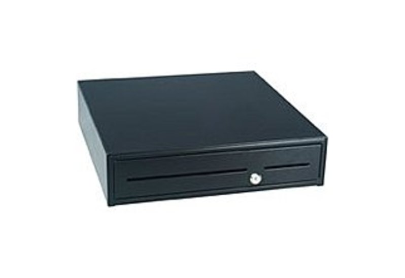 APG 4000 SERIES 1816 JD420-BL1816-C Cash Drawer - Black
