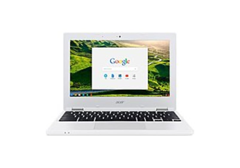 "Acer CB3-131-C3SZ 11.6"" LCD Chromebook - Intel Celeron N2840 Dual-core (2 Core) 2.16 GHz - 2 GB DDR3L SDRAM - 16 GB Flash Memory - Chrome OS - 1366 x"