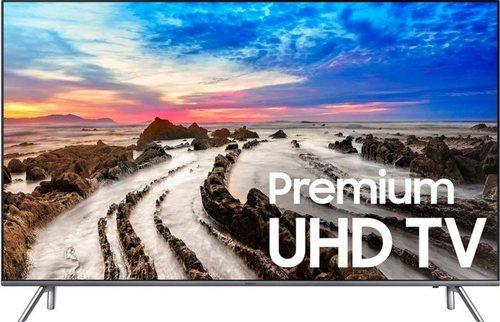 Samsung 8 Series UN55MU8000FXZA 55-inch 4K UHD Smart LED TV - 3840 x 2160 - 640 Hz - 16:9 - HDMI, USB - Grey