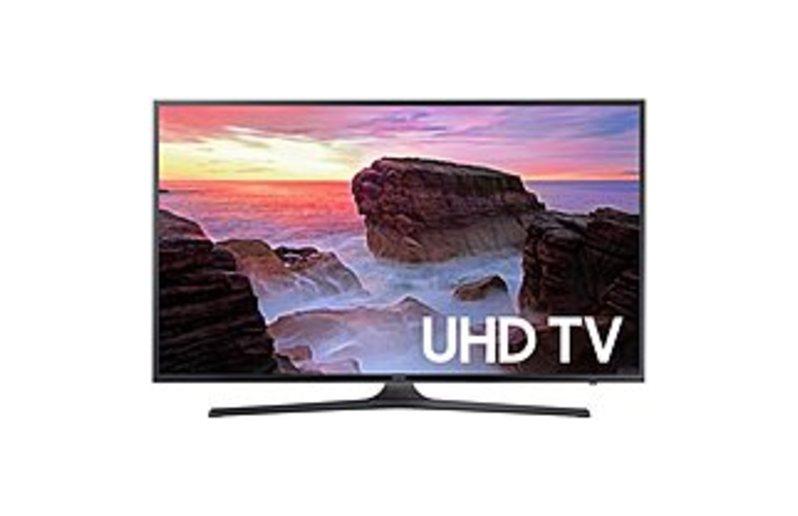 Samsung UN65MU6300FXZA 65-inch 4K UHD Smart LED TV - 3840 x 2160 - 120 MR - HDMI/USB
