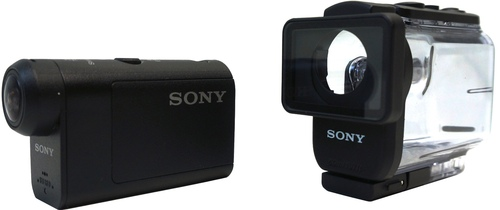 Sony HDR-AS50/B 11.1 Megapixel HD Action Camera - 1080p - Exmor R CMOS - USB - Mac, Windows - Black