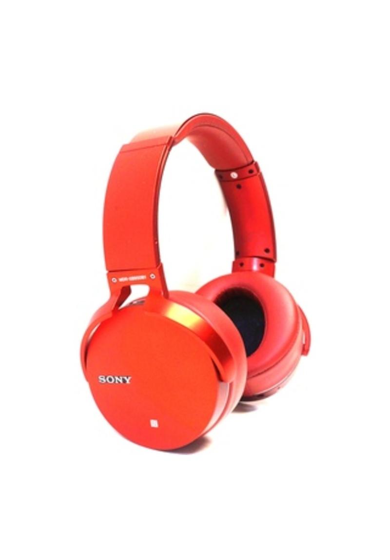 Sony MDR-XB950B1/R Extra Bass On Ear Wireless Headphones - Bluetooth - Red