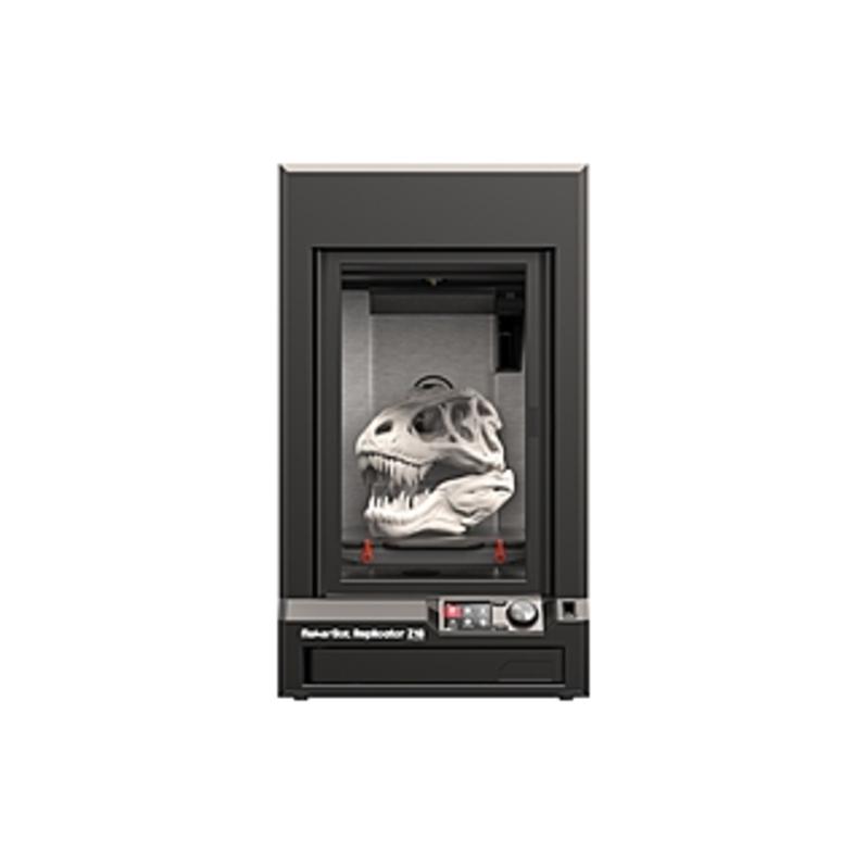 "MakerBot Replicator Z18 3D Printer - 12"" x 18"" x 12"" Build Size - Fused Filament Fabrication - 3.9 mil - Single Jet - 68.9 mil Filament - Powder Coate"
