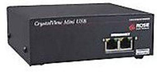 Rose Electronics CrystalView Plus CRV-MRU2V Mini USB Remote KVM Extender - Black