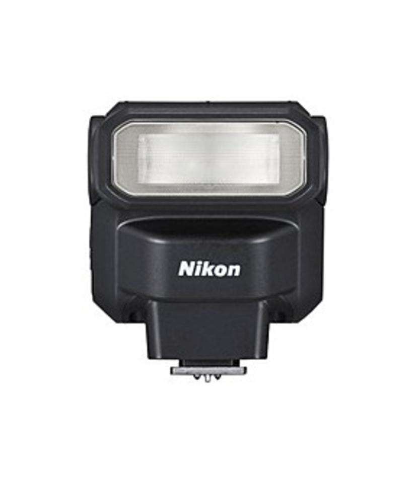 Nikon SB-300 018208048106 Hot-Shoe Speedlight Clip-on Flash - Black