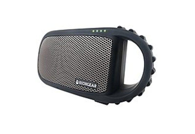 Ecoxgear 819127011277 Ecocarbon Waterproof Bluetooth Speaker - Gray
