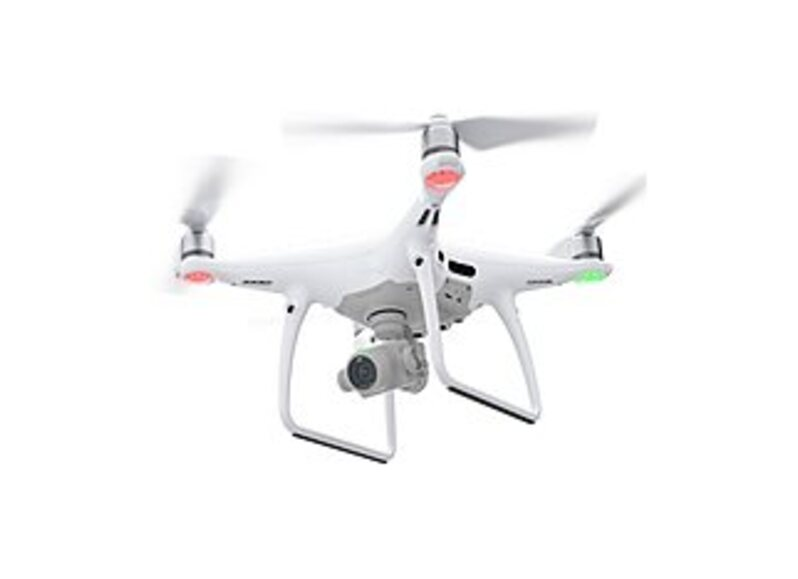 DJI CP.PT.000549 Phantom 4 Professional+ Quadcopter with Camera - Remote Controller with 5.5-inch 1080p Display - White