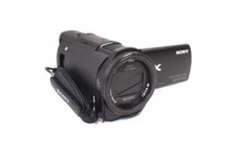 "Image of Sony Handycam FDR-AX33 Digital Camcorder - 3"" - Touchscreen LCD - Exmor R CMOS - 4K - Black - 16:9 - 8.3 Megapixel Image - 8.3 Megapixel Video - XAVC"