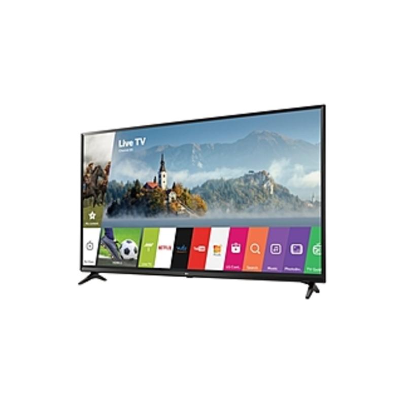 LG 49UJ6300 49-inch 4K Ultra HD LED Smart TV - 3840 x 2160 - TruMotion 120 - Active HDR - webOS 3.5 - Wi-Fi - HDMI