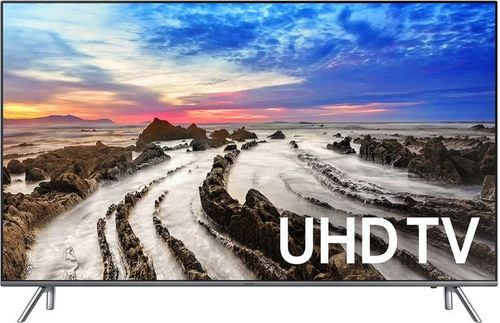Samsung UN75MU8000FXZA 75-inch 4K UHD Smart LED TV - 3840 x 2160 - 240 Hz - Bluetooth/Wi-Fi - HDMI/USB - Black