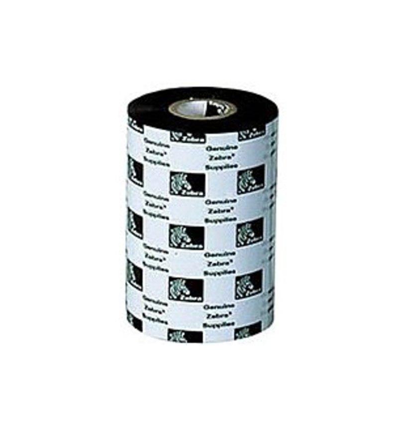 Zebra Technologies 05319BK11045-R Performance Wax Print Ink Ribbon - Black