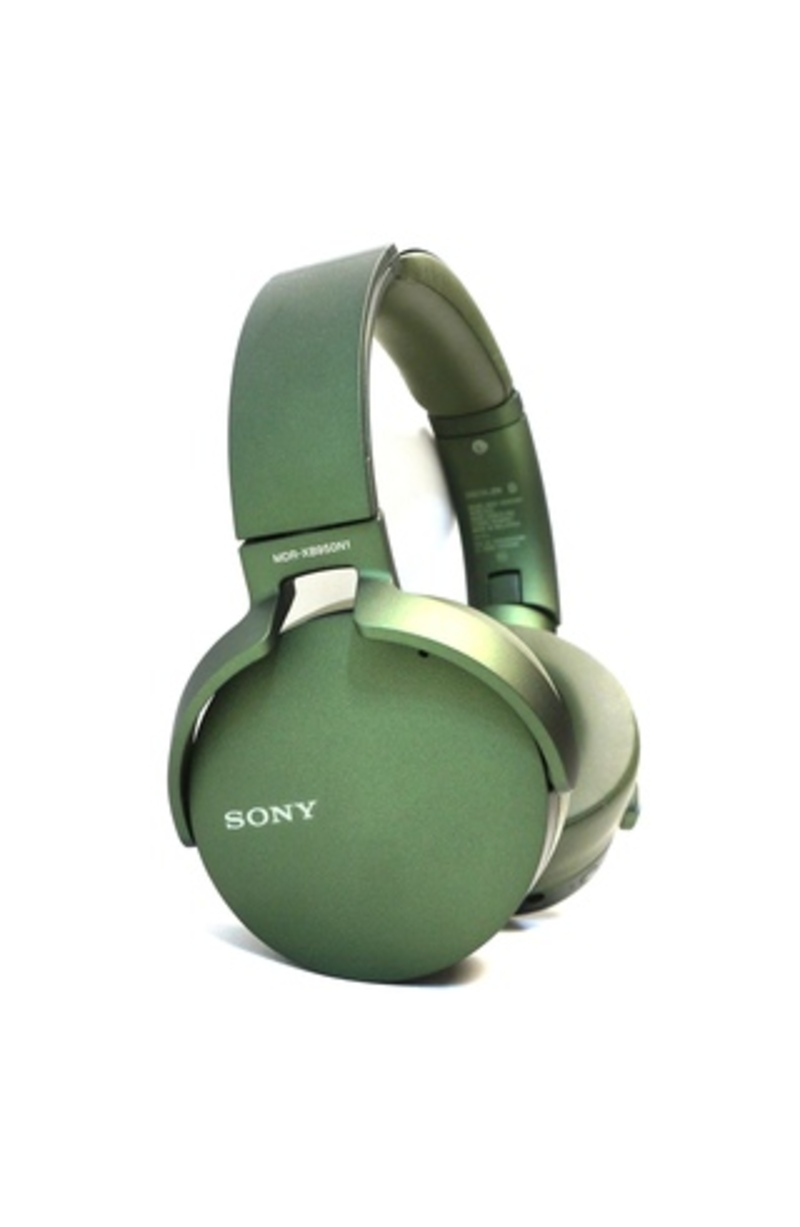 Sony MDR-XB950N1/G Noise Cancelling Over-the-Ear Headphones - Bluetooth - Green
