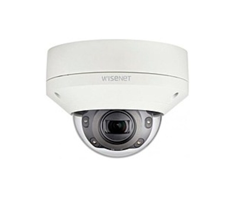 Samsung Wisenet X XNV-6080R 2 Megapixels Day and Night Outdoor Surveillance Network IR Dome Camera - 1920 x 1080 - 2.8 to 12mm (4.3x) Motorized Varifo