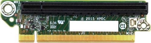 HP XL170r/190r LP PCIex16 L Riser Kit - PCI Express 3.0 x16 Low-profile