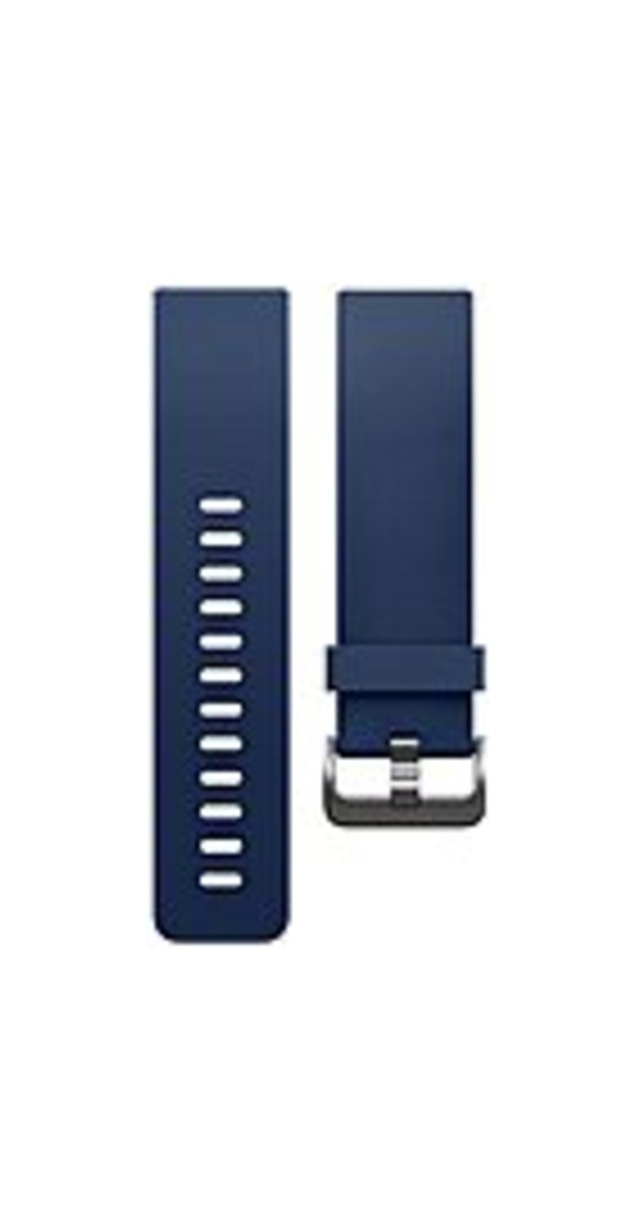 Fitbit Blaze Classic Band - Blue - Elastomer, Stainless Steel
