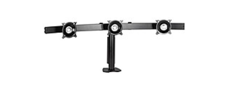 Chief KTC325B Horizontal Desk Clamp Mount For 3 LCD - Black
