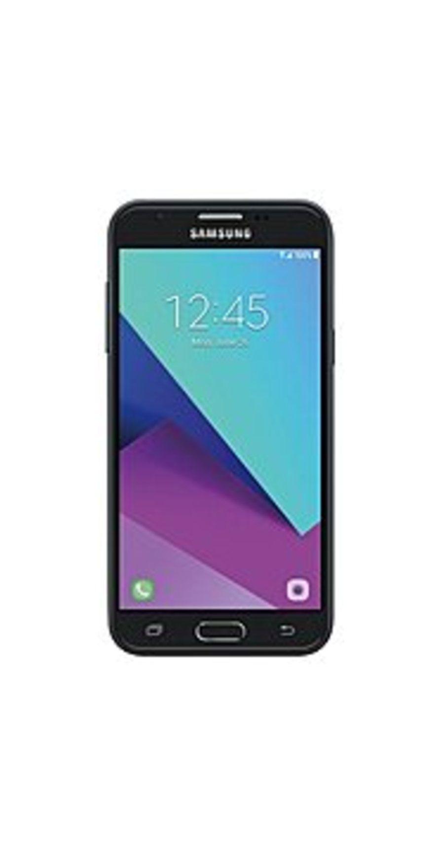 Samsung Galaxy J3 (2017) SM-J327UZKAXAA SM-J327U Smartphone - GSM 850/900/1800/1900 MHz - Bluetooth 4.2 - 5.0-inch Display - 16 GB Storage Memory - Un