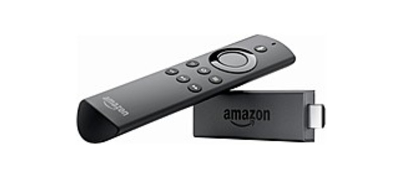 Amazon LY73PR Fire TV Stick with Alexa Voice Remote - 8 GB - 1080p - Black