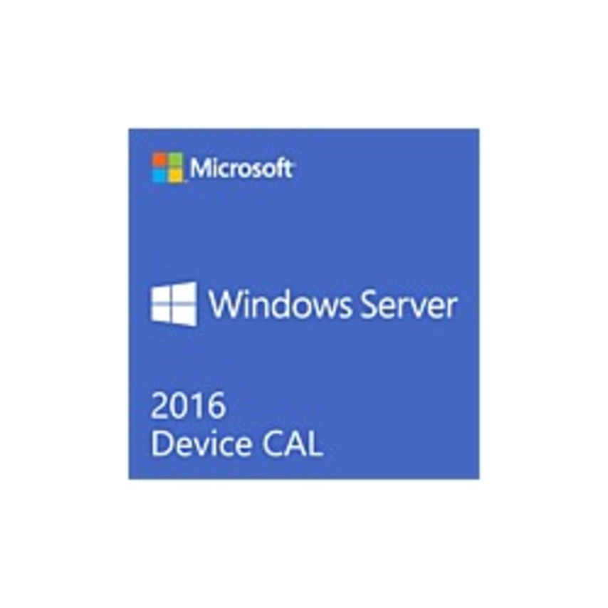 Microsoft Windows Server 2016 - License - 5 Device CAL - English - PC