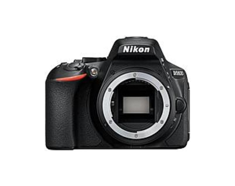 "Nikon D5600 24.2 Megapixel Digital SLR Camera Body Only - Black - 3.2"" Touchscreen LCD - 16:9 - TTL - 6000 x 4000 Image - 1920 x 1080 Video - HD Movie"