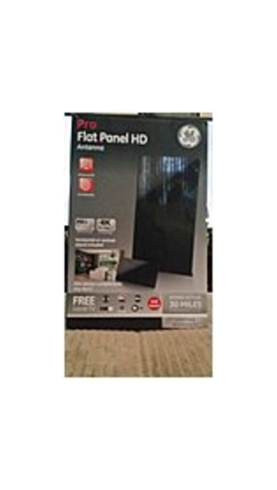GE 33681 Pro Flat Panel Digital Indoor Passive Antenna