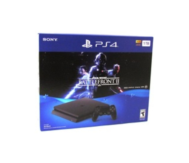 Sony STAR WARS Battlefront II PS4 Bundle - Game Pad Supported - Wireless - Jet Black - AMD Radeon - 3840 x 2160 - 16:9 - 2160p - Blu-ray Disc Player -