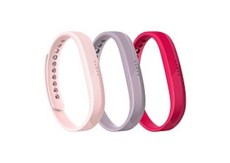 Fitbit Wrist Band - 3 - Lavender, Blush Pink, Magenta