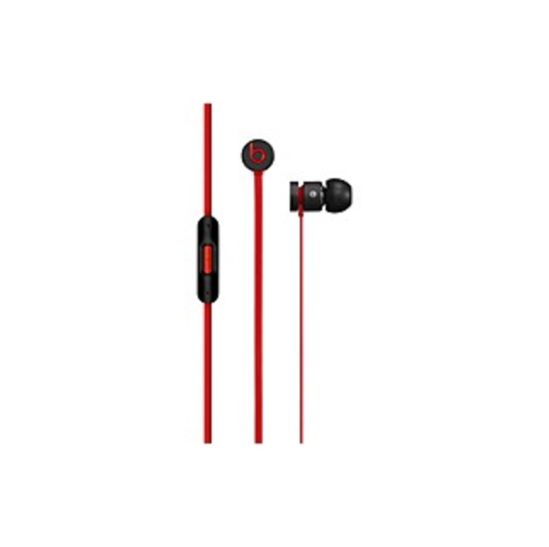 Beats by Dr. Dre urBeats Earphones - Black - Stereo - Black - Mini-phone - Wired - Earbud - Binaural - In-ear - 3.94 ft Cable