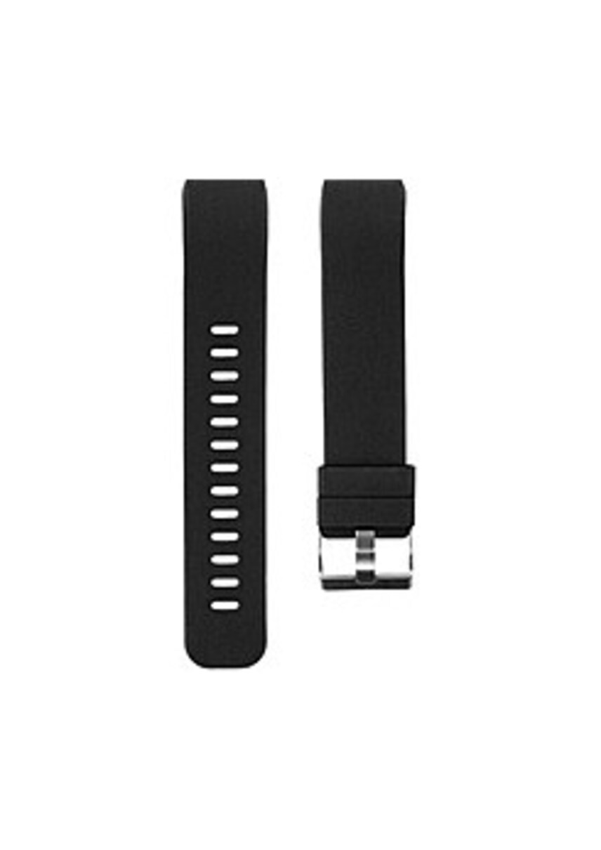 End-Scene CO9232 Silicone Band for Fitbit Charge 2 Fitness Tracker - Black