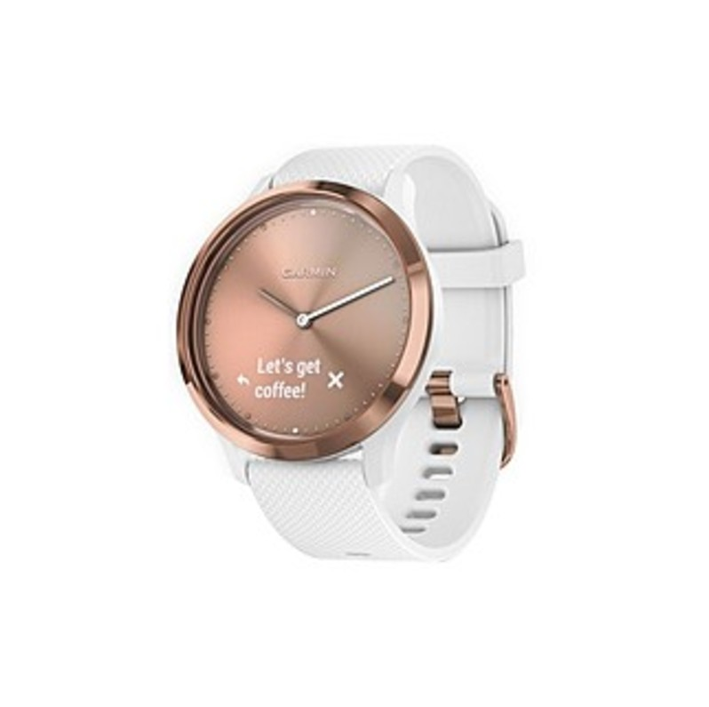 Garmin vvomove HR Sport Hybrid Smartwatch Rose gold 010-01850-12
