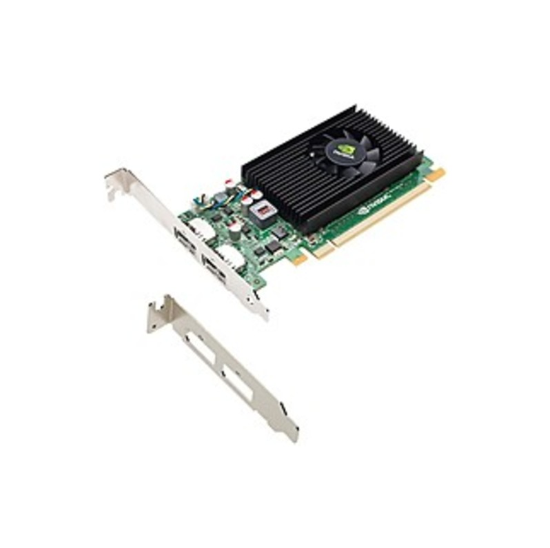 PNY Quadro NVS 310 Graphic Card - 1 GB DDR3 SDRAM - Low-profile - Single Slot Space Required - 64 bit Bus Width - Fan Cooler - OpenGL 4.1, OpenCL, Dir