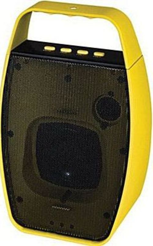 NXG Technology NX-WRLSM-YELLOW Wireless Bluetooth Speaker - Weather Resistant -Yellow (NX-WRLSM-YELLOW_C1) photo