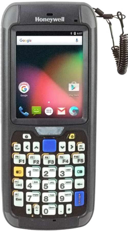 Honeywell CN75E-Q6KCF2A6100 Handheld Data Collection Terminal - 1.5 GHz Processor - 2 GB RAM - 16 GB Flash Memory - Bluetooth/Wi-Fi - Android 6 GMS -