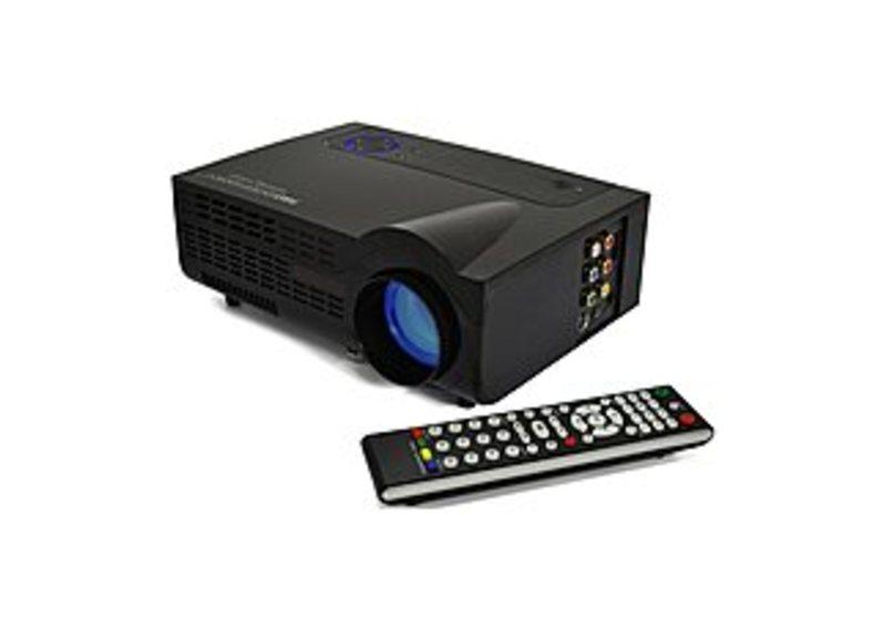Favi FE-RIOHD-LED-G3 LCD Gaming Projector - Built-In Dual Speakers - 350 Lumens - 1800:1 - SVGA (800 x 600) - Black