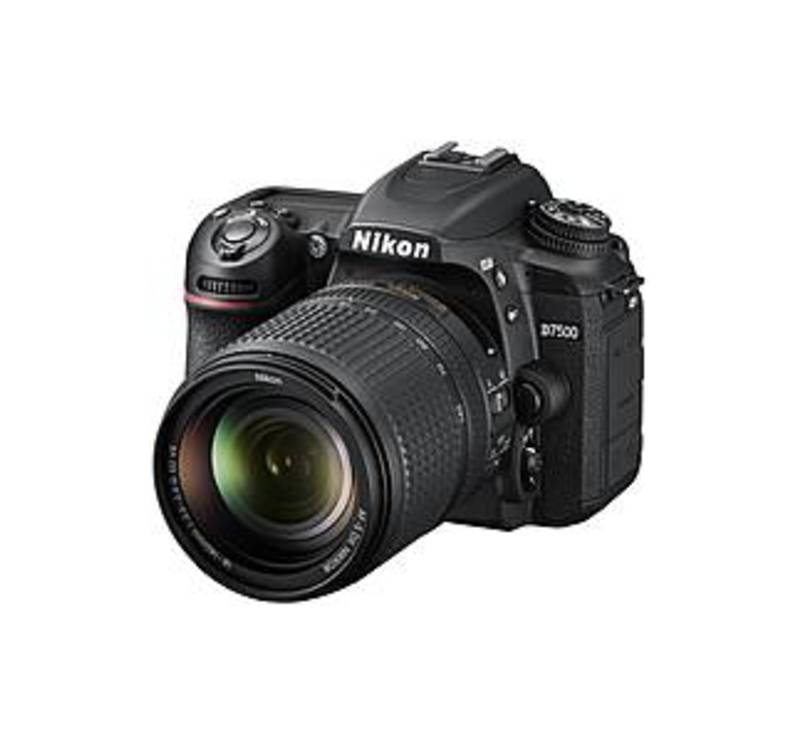 "Nikon D7500 20.9 Megapixel Digital SLR Camera with Lens - 18 mm - 140 mm - 3.2"" Touchscreen LCD - 7.8x Optical Zoom - Digital (IS) - 5568 x 3712 Image"