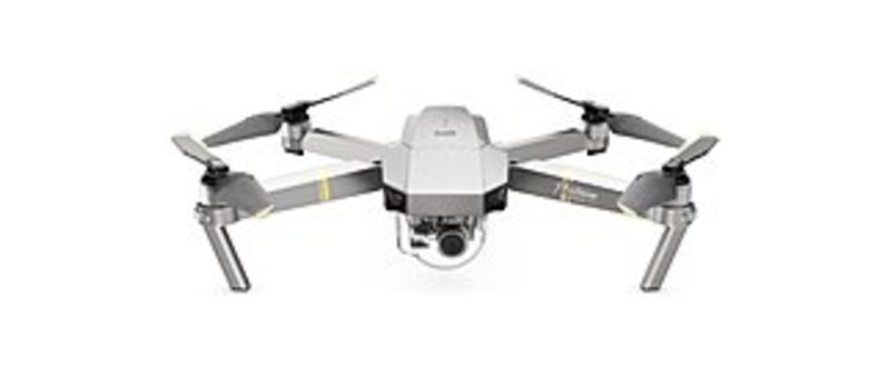 DJI CP.PT.00000071.01 Mavic Pro Platinum Quadcopter with 12 Megapixels 4K Camera and Wi-Fi