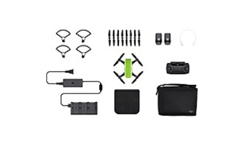DJI CP.PT.000903 Spark Fly More Quadcopter Combo - 12 Megapixels Integrated Camera - Meadow Green