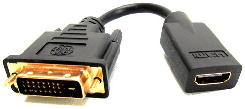 GE_030878335867_DVI_Male_to_HDMI_Female_Video_Adapter_-_Black