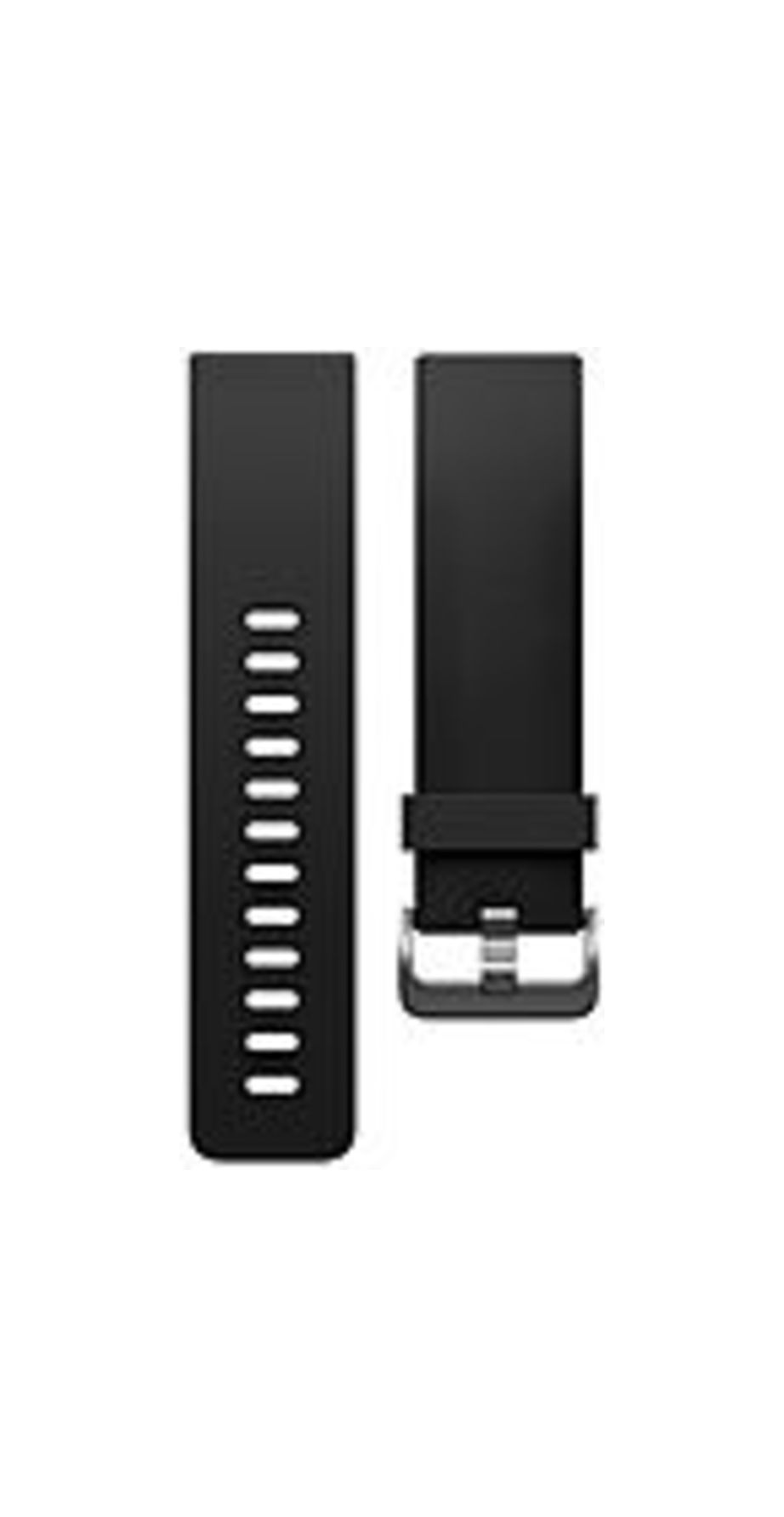 Fitbit Blaze Classic Band - Black - Elastomer, Stainless Steel