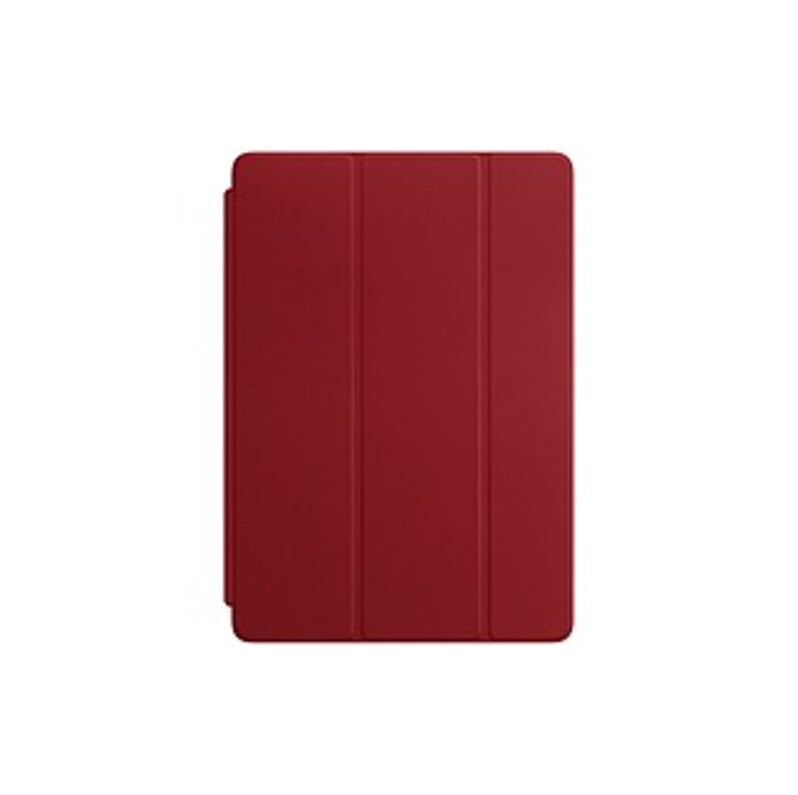 Apple Smart Cover Cover Case Cover for 10.5 iPad Pro - Red - Scratch Resistant Interior - Leather