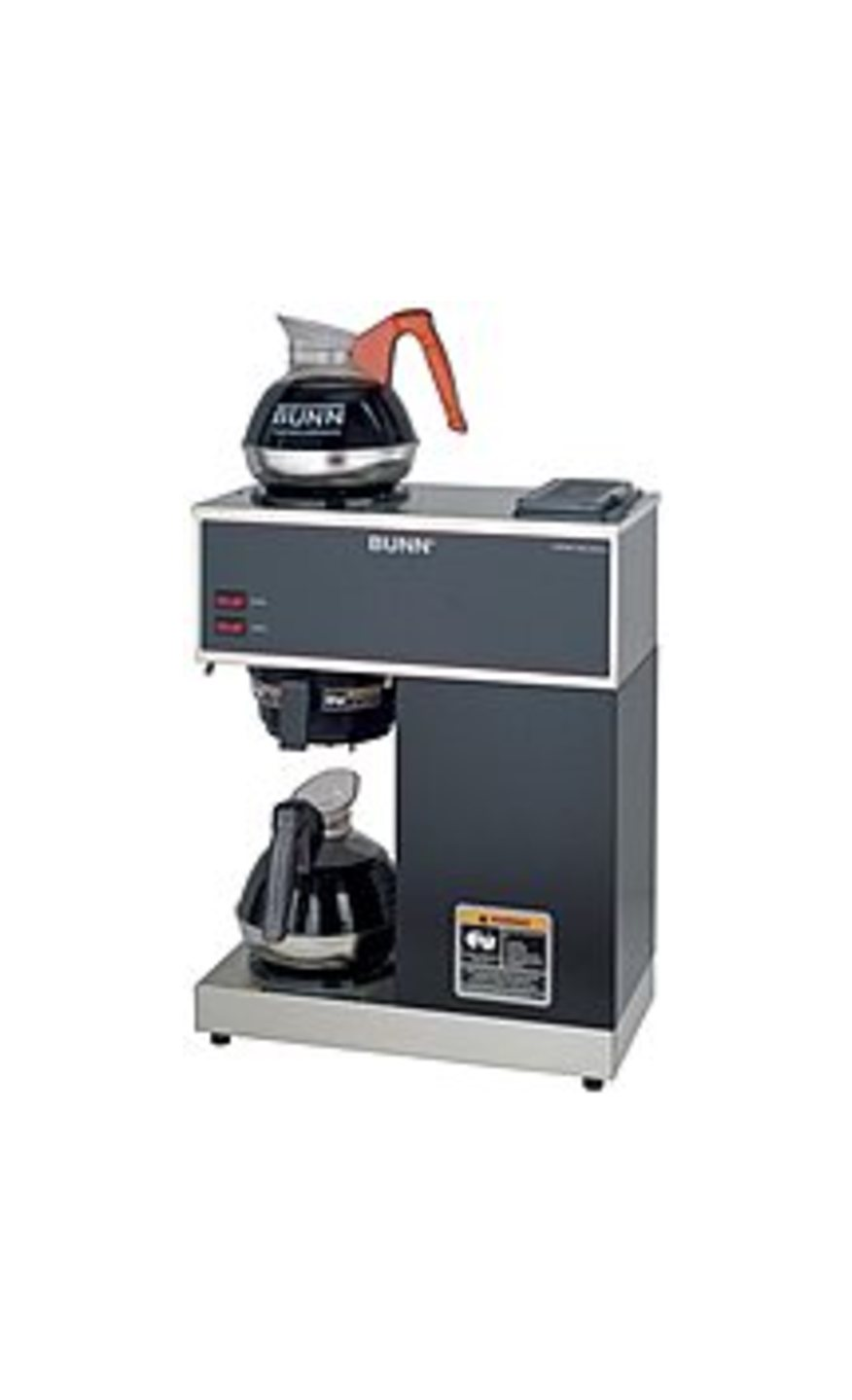 BUNN VPR 12-Cup Coffeemaker Black/Stainless-Steel 33200.0002
