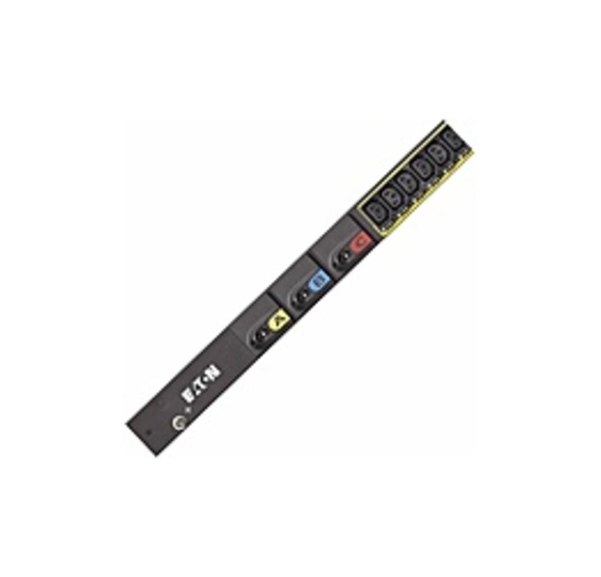 Eaton ePDU Metered EMI323-06 38-Outlet PDU - IEC 60309 460P9 - 38 x IEC 60320 C13 - 17.30 kW - 40U - Rack Mount